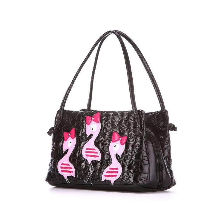 e69dd2c7f466 Детская сумочка 1811 черный Alba Soboni