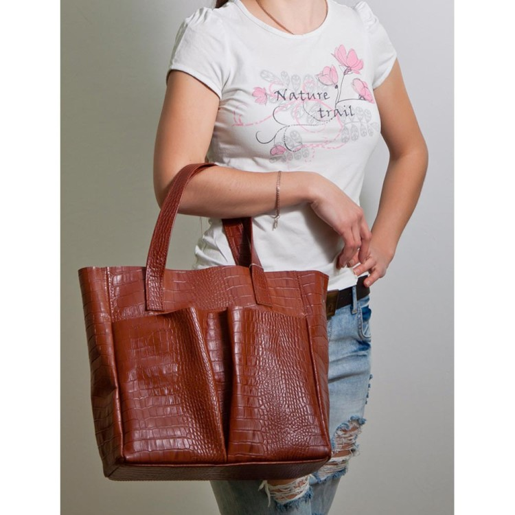 Жіноча сумка BagTop BTJS-2-1 · Містка модель з двама великими карманами  BagTop 9b3d9af6420c8