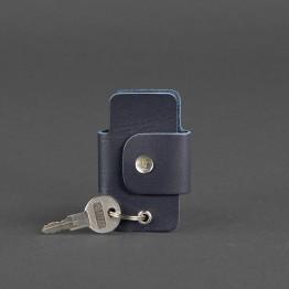 Ключница BlankNote  BN-KL-4-navy-blue