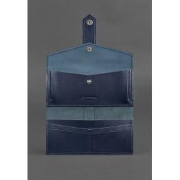 Женский кошелёк  BlankNote  BN-PM-3-navy-blue