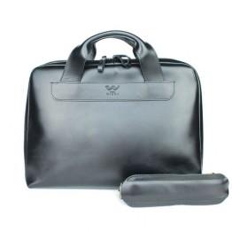 Портфель BlankNote  TW-Attache-Briefcase-black-ksr