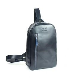Сумка через плечо BlankNote  TW-Chest-bag-blue-ksr