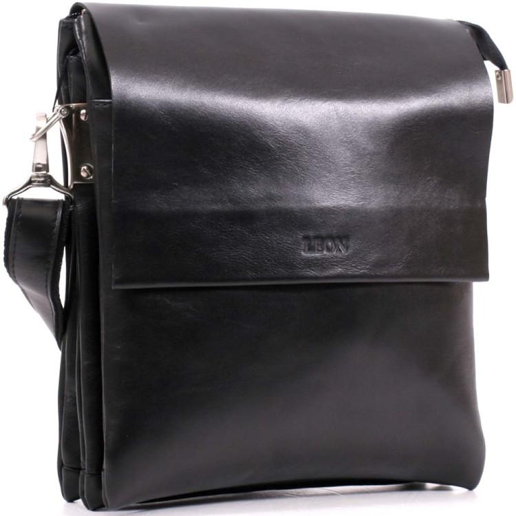 Мужская кожаная сумка через плечо Leon a74c2a1c7a1e4