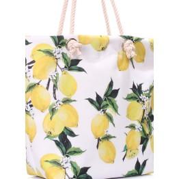 Пляжная сумка Poolparty anchor-lemons