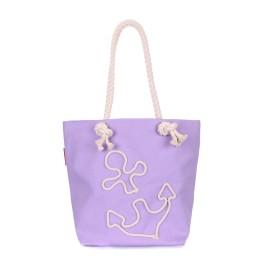 Пляжная сумка Poolparty anchor-lilac-none