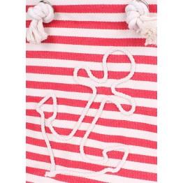 Пляжная сумка Poolparty anchor-red