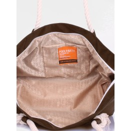 Молодёжна сумка Poolparty breeze-oxford-brown