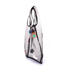 Хозяйственная сумка Poolparty flower-mesh-tote