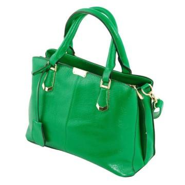 Женские кожаные сумки изумрудного цвета